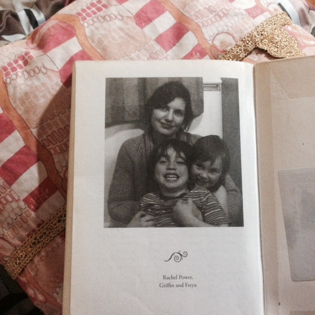 The author Rachel Power with her own children.. photo taken from the book