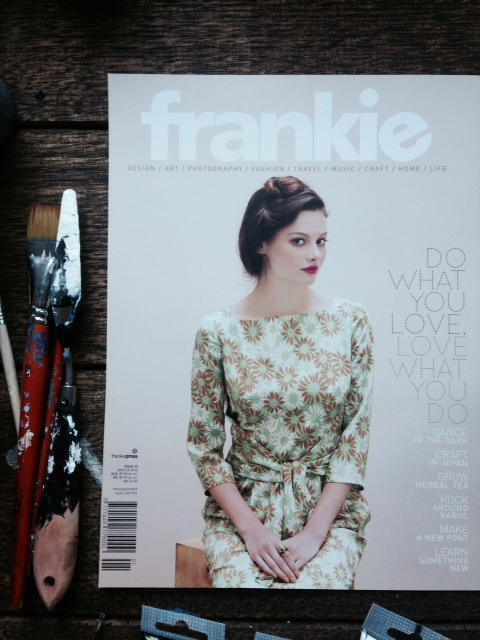 """my"" issue of frankie magazine (no 45)."