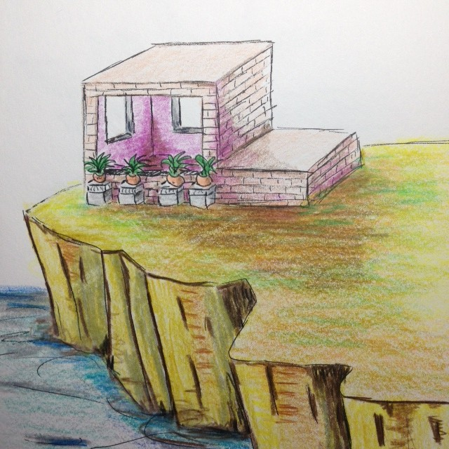 and another sketch with pots in situ..