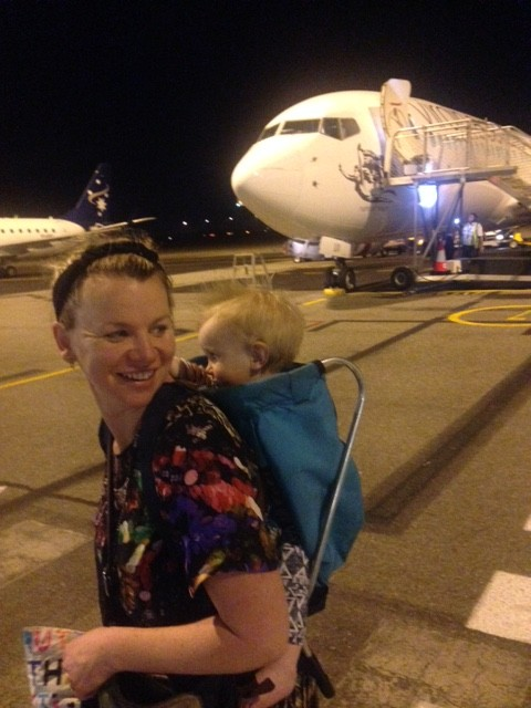 Arriving at midnight in Darwin, Met by the Heat.